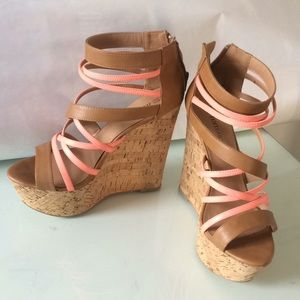 Tall Strappy wedges